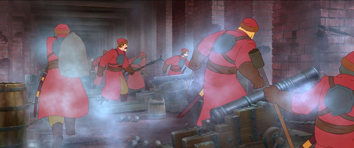 Крепость: щитом и мечом (мультфильм)