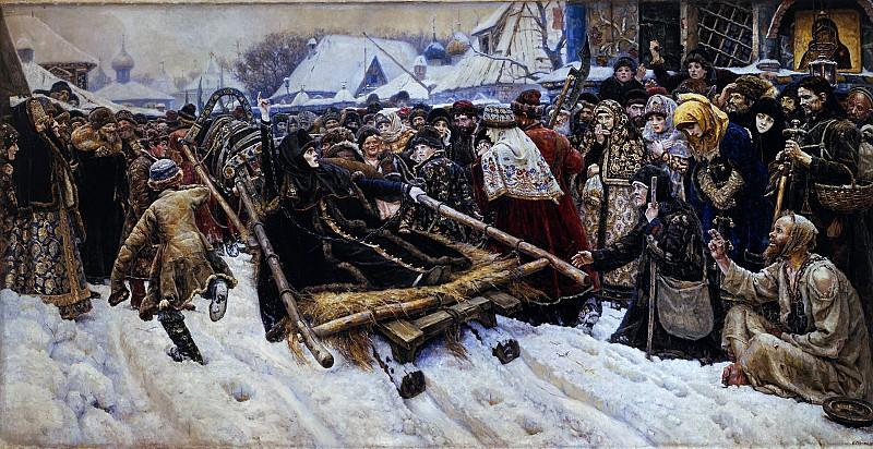 Суриков: Боярыня Морозова. 1887