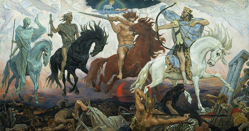 Васнецов: Воины Апокалипсиса