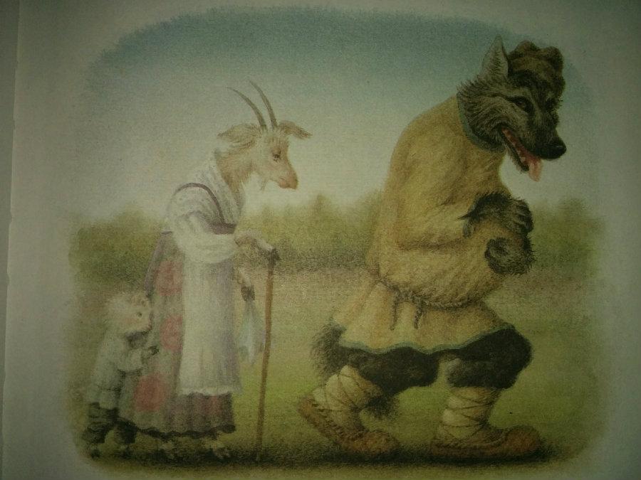 """О чем сказка """"Волк и семеро козлят""""?"""