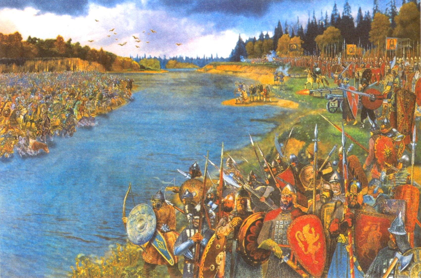 «Стояние на реке Угре» и конец Золотоордынского ига. 1480 г.