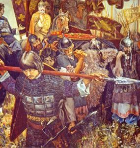 Н.С. Присекин. «С победой». 1980