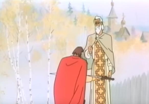 Лебеди Непрядвы (Роман Давыдов, 1980), мультфильм
