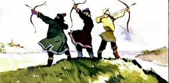 Василиса Премудрая (диафильм со звуком)