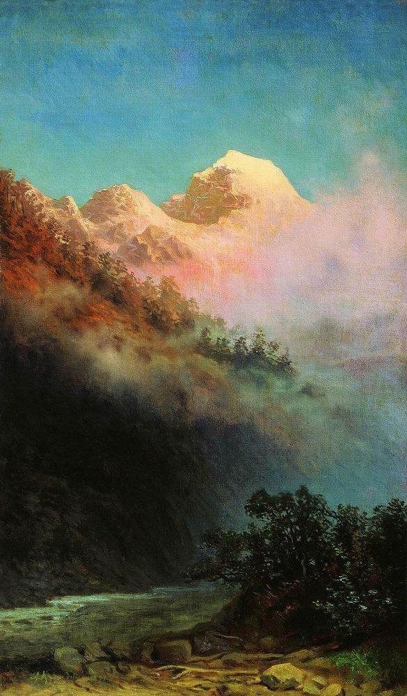 Крест на скале (Лермонтов)