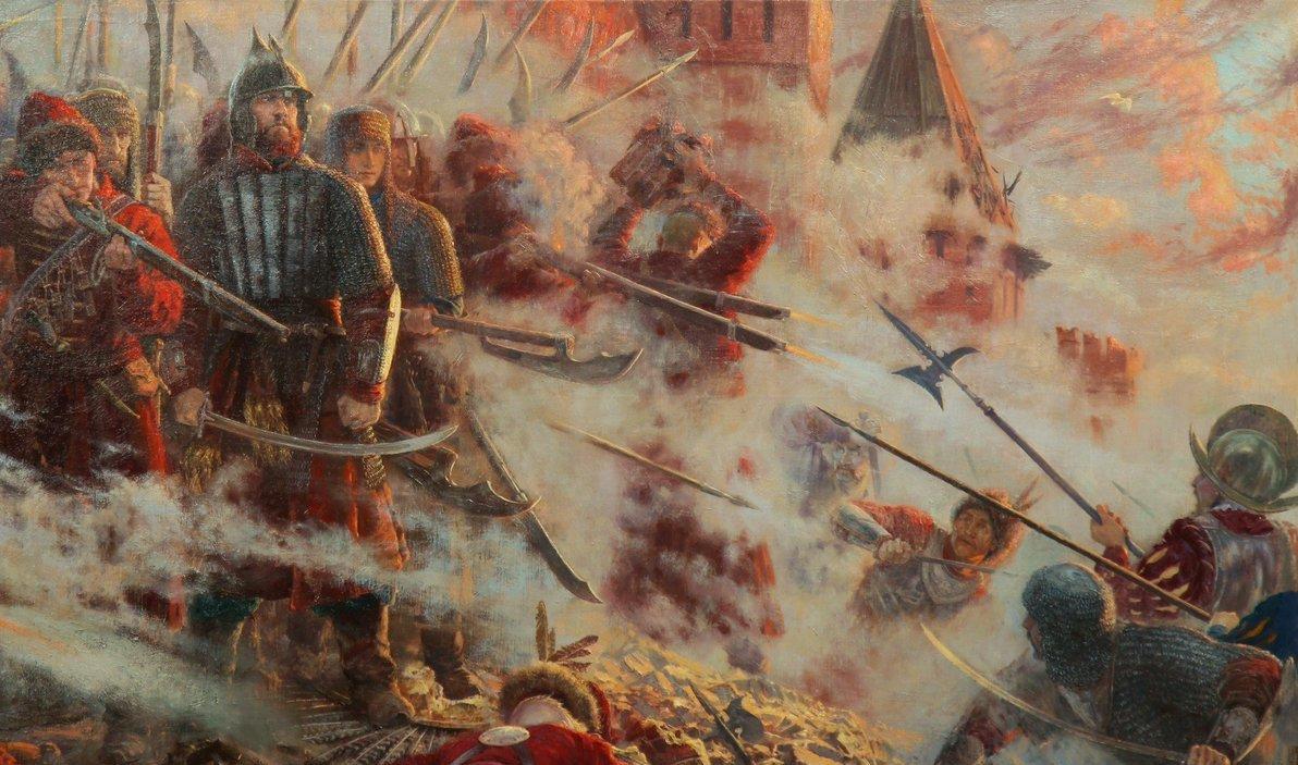 Героическая оборона Смоленска в Смутное время